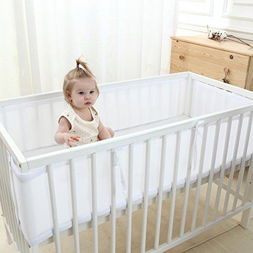 Lekeye Breathable Mesh Crib Liner Crib Bumper White Buy