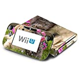 Puppy Kitty Friends Decorative Decal Cover Skin for Nintendo Wii U Console and GamePad