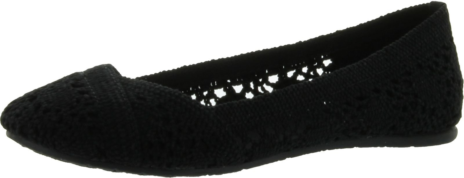 Soda Women Faddy-S Flats-Shoes,Black,6