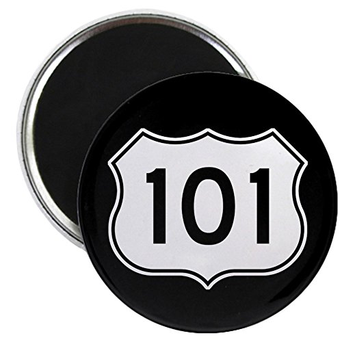 CafePress - U.S. Route 101 Magnet - 2.25