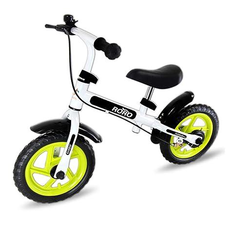 Bicicleta sin pedales Bici Bicicleta White Balance con Frenos: sin Pedales Mini Bicicletas con Ruedas