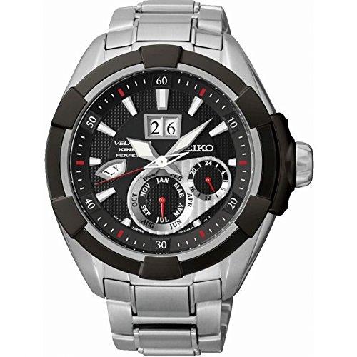 Seiko - Reloj hombre velatura kinetic snp101p1
