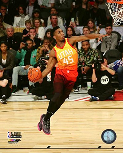 Image Unavailable. Image not available for. Color  Donovan Mitchell Utah  Jazz Slam Dunk Contest ... 3111e4ca6