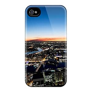 Snap-on Case Designed For Iphone 4/4s- Sydney Night Lights