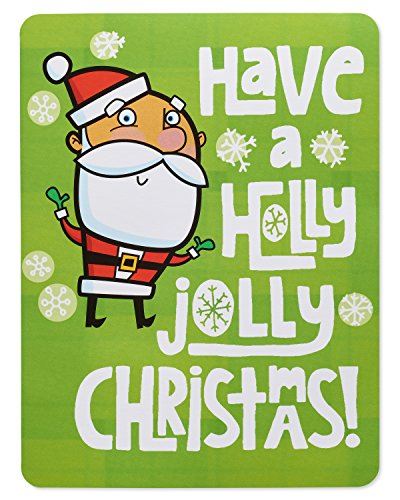 Holly Jolly Christmas Card - American Greetings Holly Jolly Money and Gift Card Holder Christmas Card with Music
