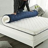 HYXL Thicken Tatami floor mattress,Thick non-slip mattress Durable Soft Bed tatami mat Japanese traditional futon mattress pad-B 180x200cm(71x79inch)