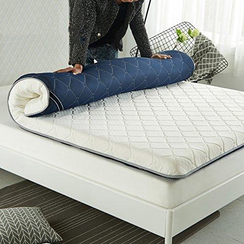 Bedroom Mattress Traditional Futon (HYXL Thicken Tatami floor mattress,Thick non-slip mattress Durable Soft Bed tatami mat Japanese traditional futon mattress pad-B 150x200cm(59x79inch))