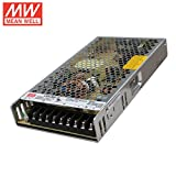 "Mean Well LRS-200-12 Switching Power Supply, Single Output, 12V, 17A, 200W, 8.5"" L x 4.5"" W x 1.2"" H"