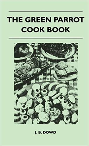 Book The Green Parrot Cook Book