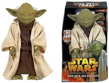 Amazoncom Star Wars Call Upon Yoda Electronic 12 Talking Figure