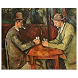 """GREATBIGCANVAS Poster Print Entitled The Card Players, 1893 96 by Paul Cezanne 12""""x10"""""""