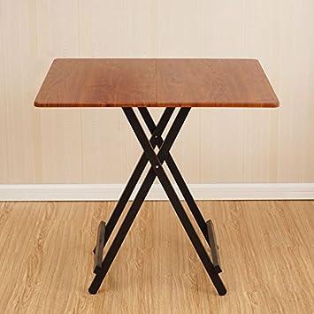 Klapptisch Cqq Portable Quadratischer Esstisch Stall Tisch Home ...