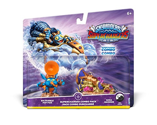 Skylanders SuperChargers Dual Pack #3: Big Bubble Pop Fizz and Soda Skimmer by Activision
