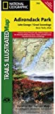 Trails Illustrated Map Lake George / Great Sacandaga Lake, Adirondack Park