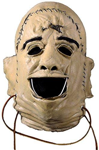 Loftus International Texas Chainsaw Massacre Leatherface Face Mask Beige One-Size Novelty Item -