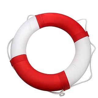 FAFY Boa Galleggiante Galleggiante Sport Acquatici Canottaggio Per Nuoto Corda Salvavita Per Nuoto,Orange