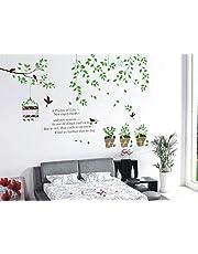 Rosette Wallpaper for Home Decor, Color Green
