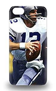 Iphone Case Cover With NFL Dallas Cowboys Roger Staubach #12 Nice Appearance Compatible With Iphone 5c ( Custom Picture iPhone 6, iPhone 6 PLUS, iPhone 5, iPhone 5S, iPhone 5C, iPhone 4, iPhone 4S,Galaxy S6,Galaxy S5,Galaxy S4,Galaxy S3,Note 3,iPad Mini-Mini 2,iPad Air )