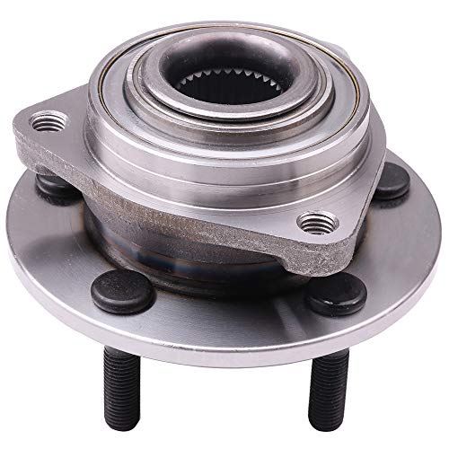 cciyu 513089 Wheel Hub and Bearing Assembly Replacement for fitChrysler Concorde Dodge Intrepid 1993-2004 Wheel Hubs 5 lugs (1) - Lhs Front Hubs