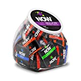 NOW Spice of Life Pleasure Pack Condoms, Fishbowl, 144 Count
