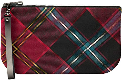 Fit American Tartan to German Bag Mini iPad Leather Large Small Enough Clutch ZxqfzcBS