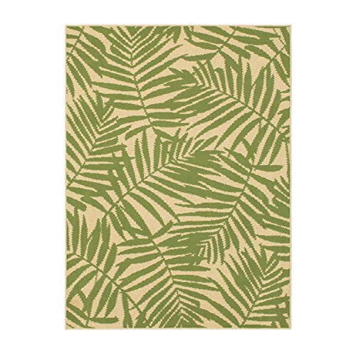 Mainstay Palm Outdoor Area Rug,6