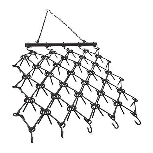 Field Tuff Heavy-Duty Drag Harrow — 4ft. x 4ft, 7 Tine Rows, 1/2in. Dia. Tines, Model# HDHA-44