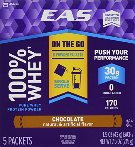 EAS Protein Powder Packets Chocolate