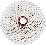 Sunrace 10-speed cassette CSMX3 wide ratio MTB (Sliver, 11-42T)