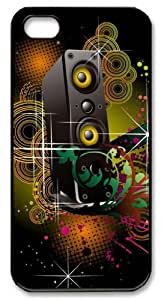 LZHCASE Personalized Protective Case for iPhone 5 - Colorful Speaker