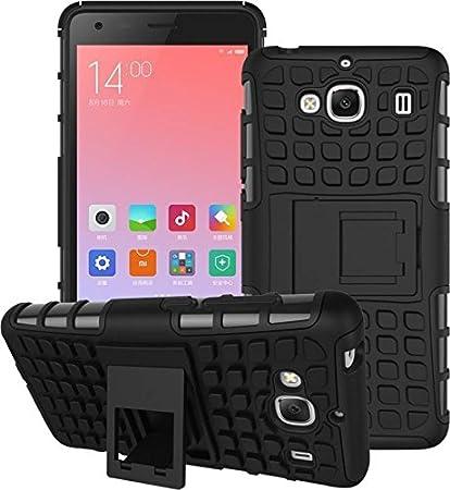 meet 62fd8 acfc1 Reflect-Ray Black Back Cover for Xiaomi Redmi 2 Pro: Amazon.in ...