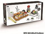 Mini Figures Building Bricks Toys,Micro Japanese Sushi Food Diamond Nano Blocks,Best Diy Creator Educational Playset For Boys/Girls/Adults(Non-Lego)