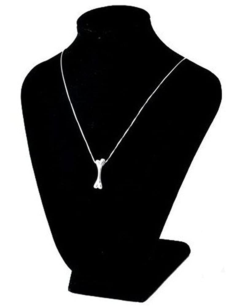 Richy-Glory 925 Sterling Silver Bone Ladies Necklace