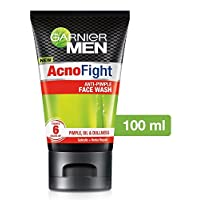 Garnier Acno Fight Face Wash for Men, 100ml