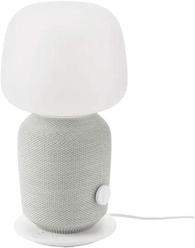 Lámpara SYMFONISK IKEA Lámpara de mesa con caja WiFi, color blanco: Amazon.es: Iluminación