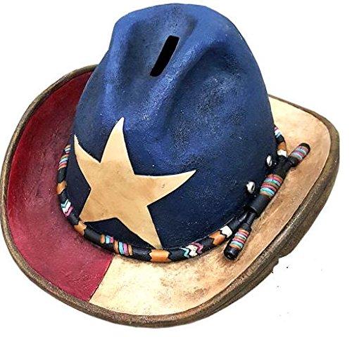 Texas 10でカウボーイハット貯金箱   B01MQM5LA2