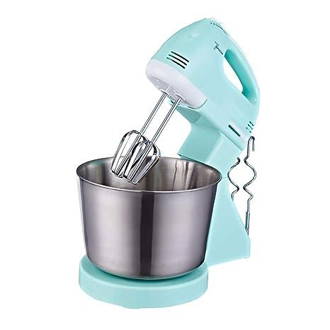 Virtpers Mezclador de pie de Cocina, batidora eléctrica doméstica de Acero Inoxidable, Mezclador de