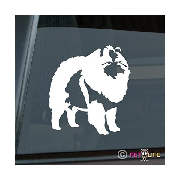 Mister Petlife Keeshond Sticker Vinyl Auto Window v2 Kees 1