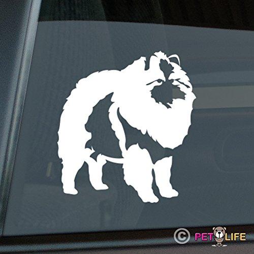 Mister Petlife Keeshond Sticker Vinyl Auto Window v2 kees