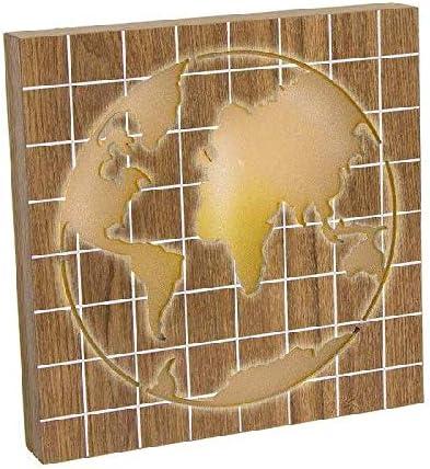 Dcasa Caja de luz Mapa Cajas Decorativas Muebles Pegatinas Decoración del hogar Unisex Adulto, Color, única: Amazon.es: Hogar