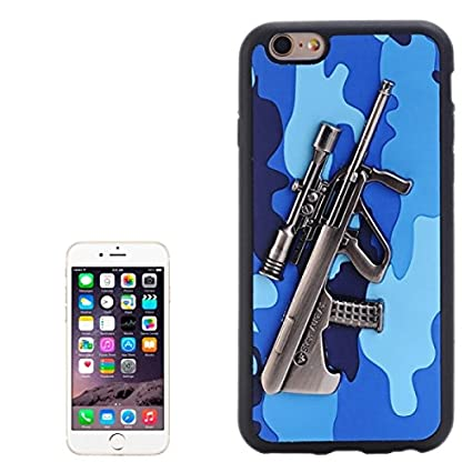 3D Steyr AUG A1 Gun Pattern PU Paste Skin TPU Protective Case for
