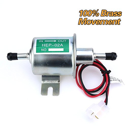 inline 12 volt fuel pump - 5