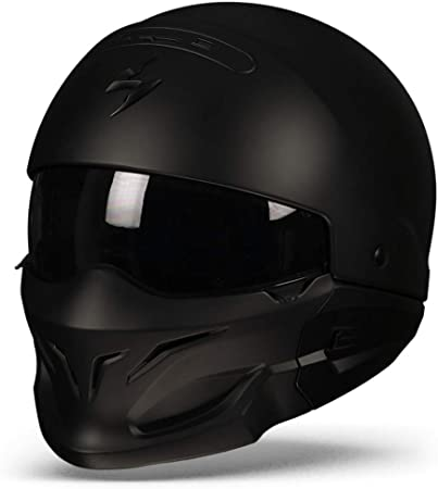 Scorpion Motorradhelm Exo Combat Noir Größe L Scorpion Helmets Auto