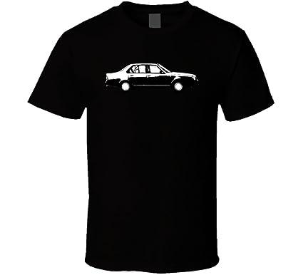 1980 Renault 18 1 6 Turbo Vintage Car Lover Driver Gift T Shirt S Black
