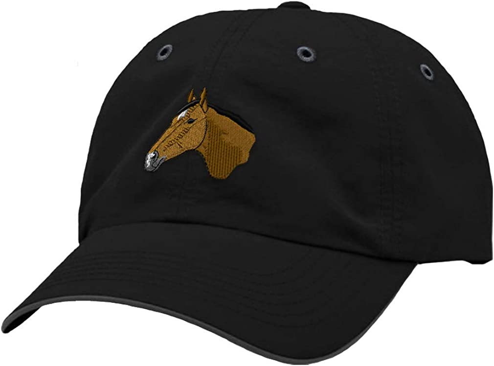Custom Richardson Running Cap Thoroughbred Embroidery Animal Name Polyester Hat