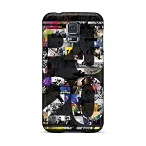 Shock Absorption Hard Phone Cover For Samsung Galaxy S5 (jrL11021gHVF) Custom High Resolution Rise Against Pattern