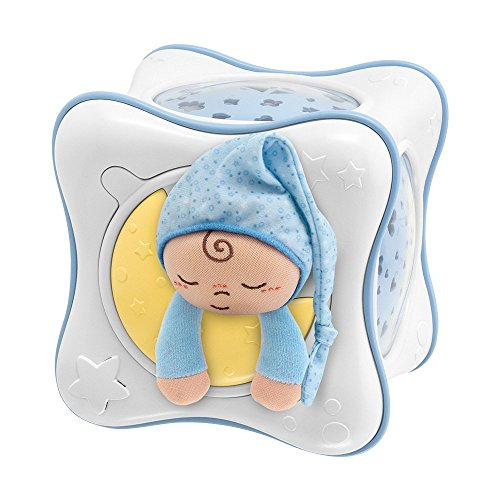 Chicco First Dreams Rainbow Cube, Proyector, Color Azul