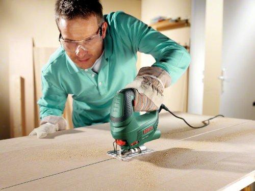 Bosch Stichsäge PST 650 (500 Watt, Schnitttiefe in Stahl/Holz 4mm/65mm, im Koffer) 4
