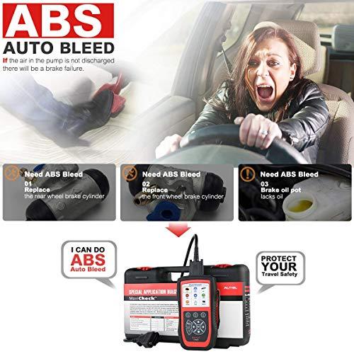 Autel MaxiCheck Pro Diagnostic Tool for ABS Brake Auto Bleed, Oil Service, ABS, SRS, BMS, DPF, EPB Service, SAS, Oil Light/Service Reset Scanner by Autel (Image #3)