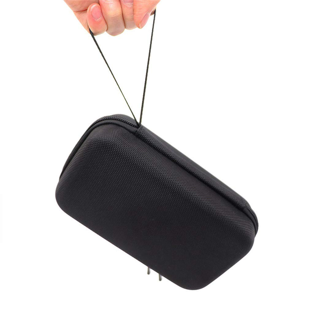 Bibao Sacoche /étanche pour DJI Osmo Pocket Mini sac de rangement rigide portable 20 x 12 x 7 cm Noir